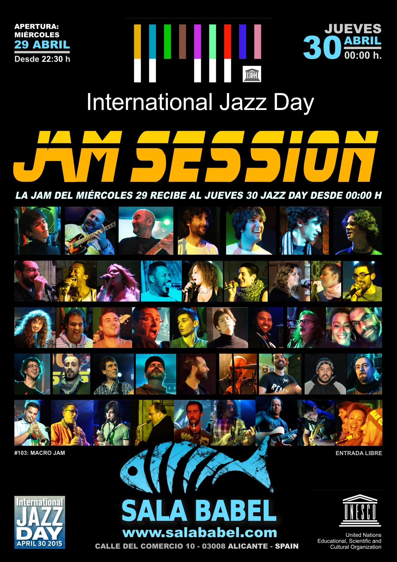 Jam Sessions de jazz en Alicante, Sala Babel.
